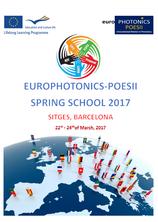 EUROPHOTONICS 2017 SPRING SCHOOL IN SITGES, BARCELONA